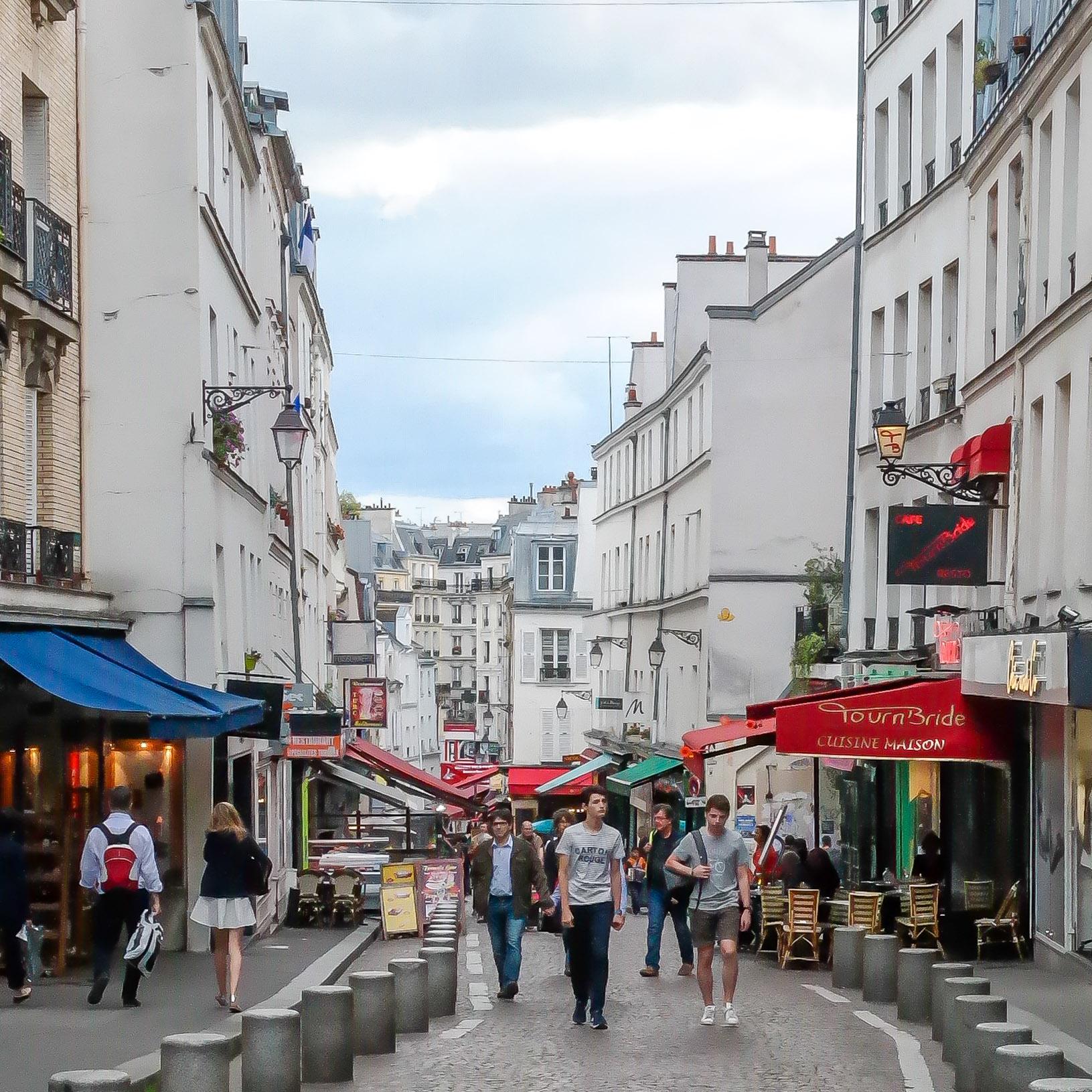 Rue Mouffetard Paris France Hilarystyle