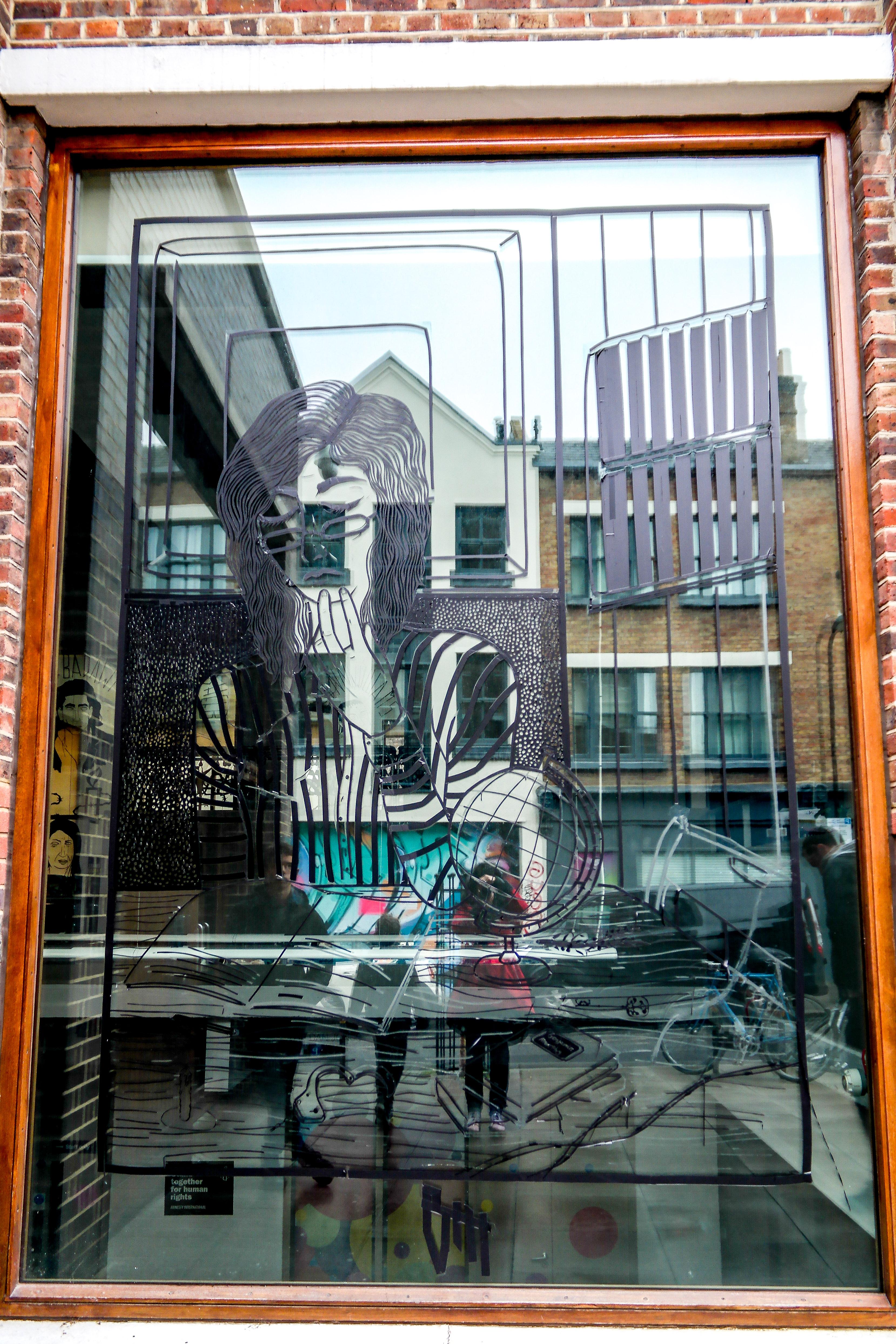 Shoreditch England: Shoreditch Street Art London England United Kingdom