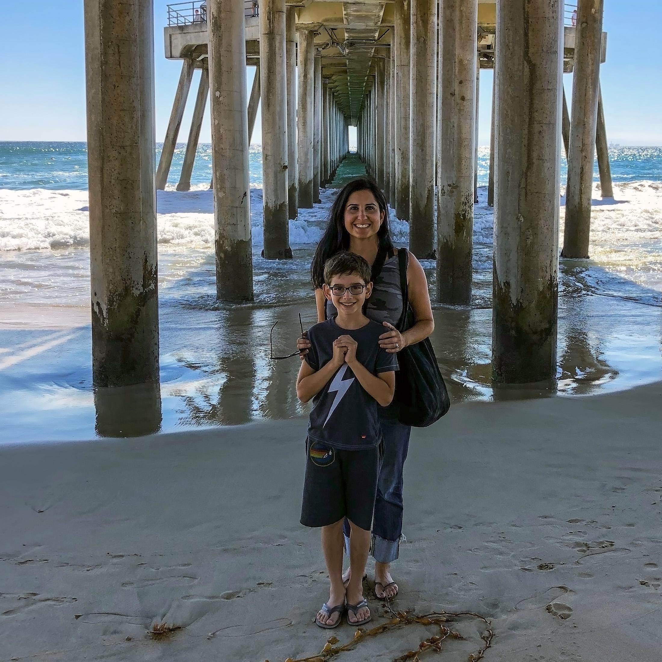 Christmas Tree Lane Los Angeles: Huntington Beach Pier Huntington Beach California